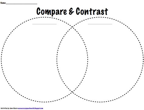 compare and contrast diagrams contrast clipart venn diagram pencil and in color