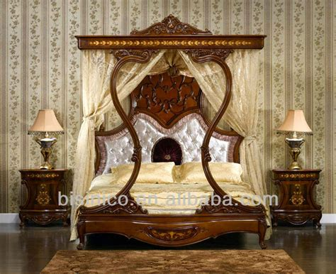 italian royal wooden bedroom furniture luxury upholstered