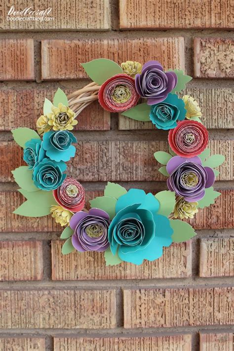 rolled paper flower garland tutorial 1216 best images about diy flowers leaves on pinterest