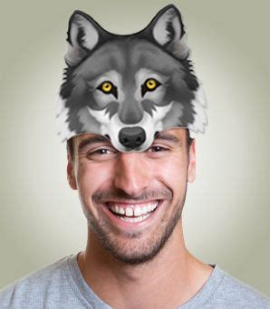 wolf hat template kids party idea wolf hat hat