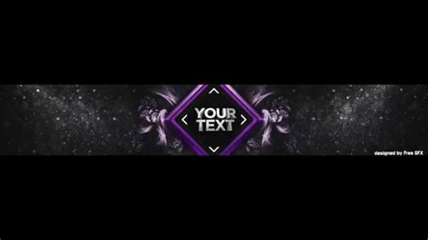Free Youtube Banner Template Photoshop Free Download By Freegfx Youtube Banner Design Templates In Photoshop Free