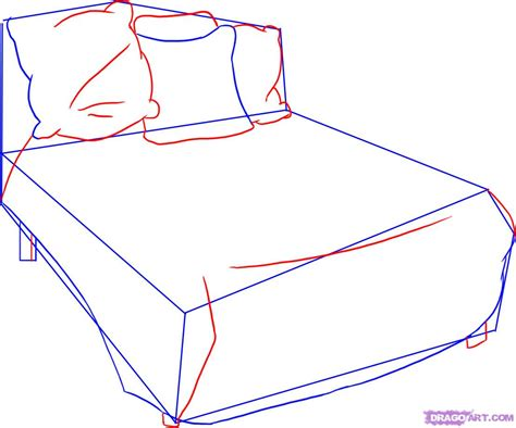 how to draw a bed step by step how to draw a bed step by step stuff pop culture free