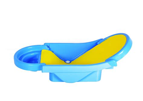 baby folding bathtub folding baby bath tub baby bather blue at best prices