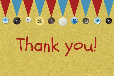 thank you card luxe gold by the hummingbird card company