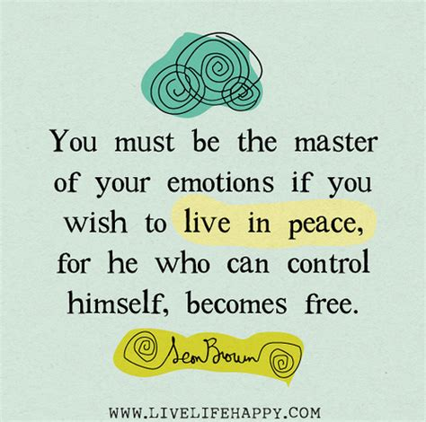 eat in peace to live in peace your handbook for vitality books you must be the master of your emotions if you wish to