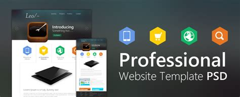 Buy A Professional Website Template Professional Website Template Design Psd Css Author