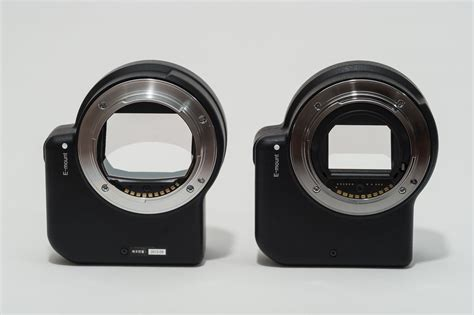 Sony La Ea4 Mount Adapter For Mirrorless Lens comparing sony la ea2 and sony la ea4 panotwins