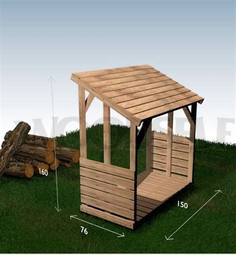 wood storage shed plans   stack  firewood