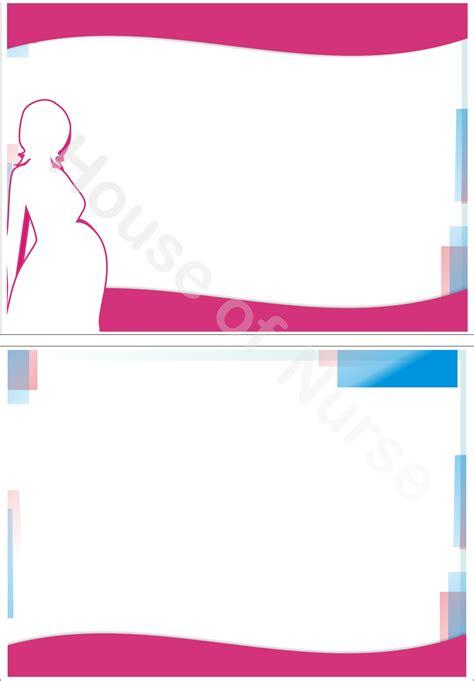 Design Powerpoint Ibu Hamil | pink pregnant