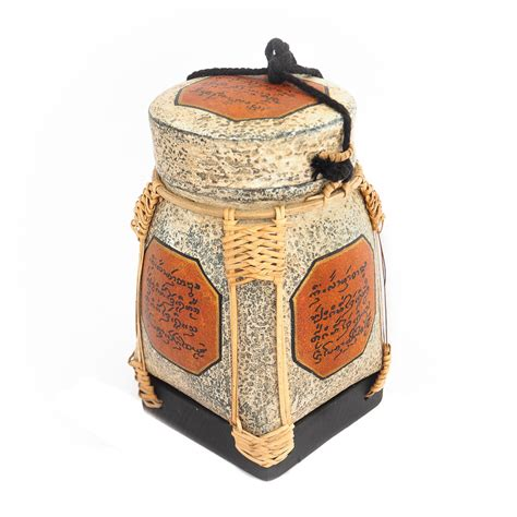 Handmade Rice Box - thai lanna blessing traditional handmade rice box siam