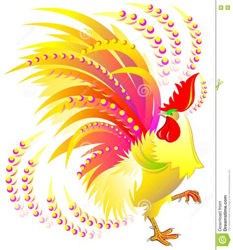 new year symbol colorful rooster symbol of the 2017 happy new year stock vector illustration of