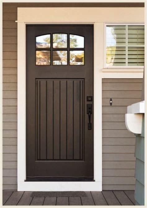 chocolate brown front door door ideas brown front