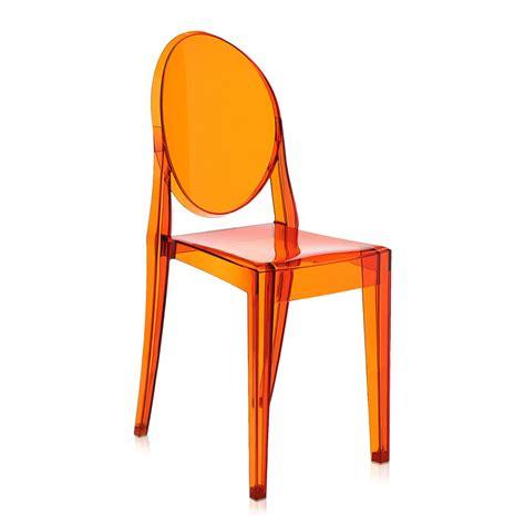 kartell chair buy kartell ghost chair orange amara