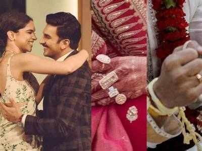 deepika padukone ring deepveer wedding ranveer singh got an elegant ring
