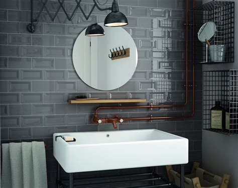 moderne u bahn fliesen badezimmer designs metro fliesen bad badezimmer bathroom weiss grau mit