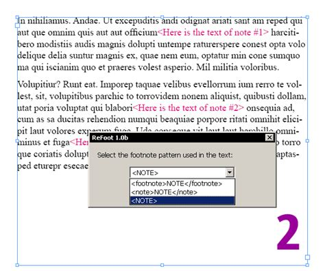 grep pattern in xml file indiscripts refoot convert markup text into indesign