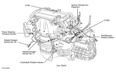 ignition transformer capacitor ford focus where is the crankshaft position sensor located on 03 focus