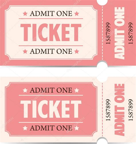 biglietti d ingresso biglietti d ingresso in stile vintage vettoriali stock