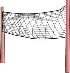 volleyball net coloring page volleyball sports clipart pictures royalty free clipart