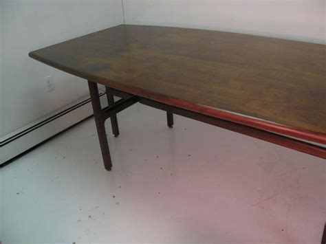 mid century modern dining room table jens risom mid century modern dining room conference