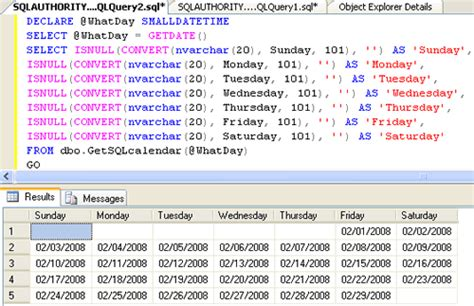 mysql date format only month and year sql server udf to return a calendar for any date for any