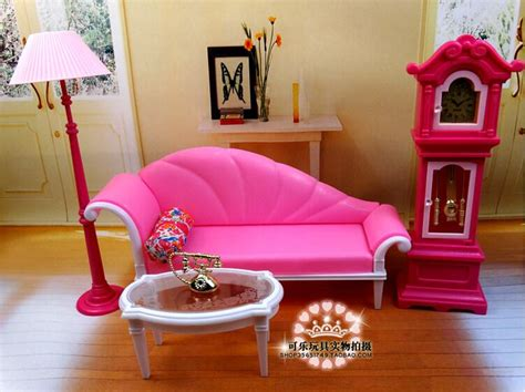 the new large scale furniture accessories pink for barbie