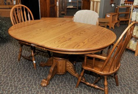 stunning amish oak dining room furniture photos