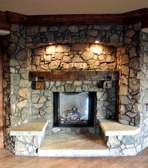 rustic stone fireplaces how to choose the perfect fireplace