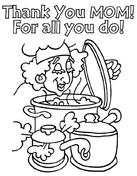 crayola coloring pages mothers day thank you mom crayola ca