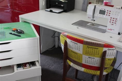sewing machine table ikea the ladybug s garden make your own sewing desk