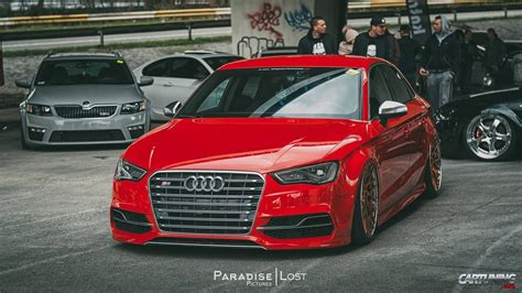 Audi A3 Stance by Stance Audi S3 Sedan Front