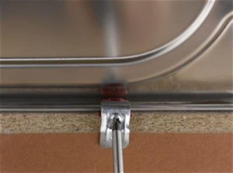 hudee ring installation changing a kitchen worktop