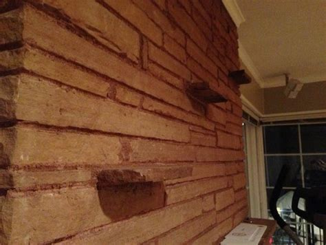 How To Remove Bricks From A Fireplace by Removing Brick Shelves On Brick Fireplace