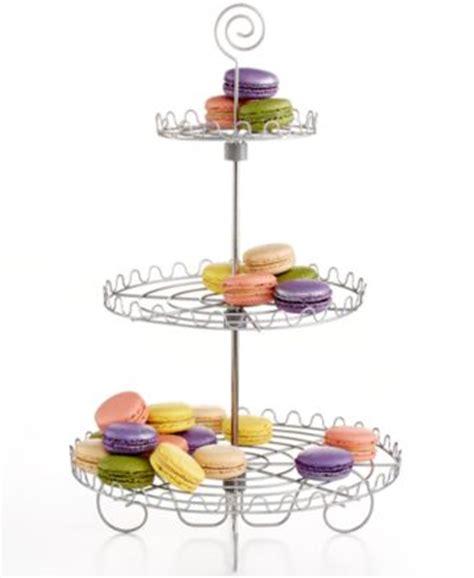 martha stewart collection cupcake tree closeout godinger serveware carousel cupcake stand serveware dining entertaining macy