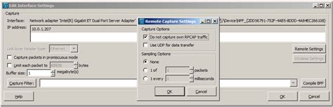 wireshark tutorial remote interface wireshark user s guide