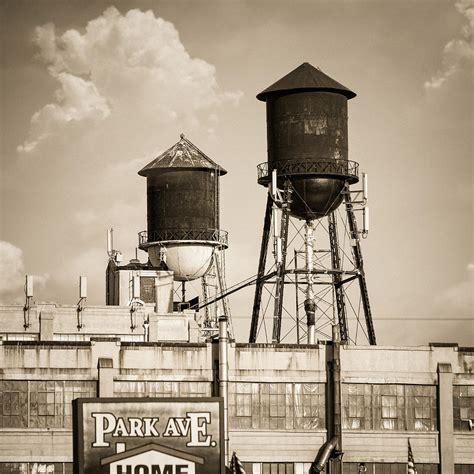Nyc Duvet New York Water Tower 8 Williamsburg Brooklyn Photograph