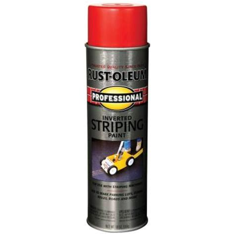 rust oleum professional 18 oz striping spray paint