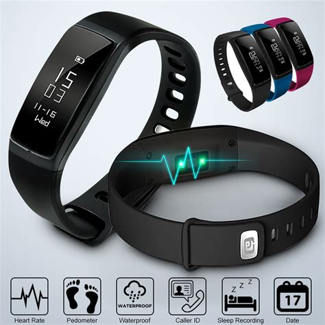 LY 107S Professional Sport Blood Pressure Waterproof Heart Rate Monitor Bracelet Wristband