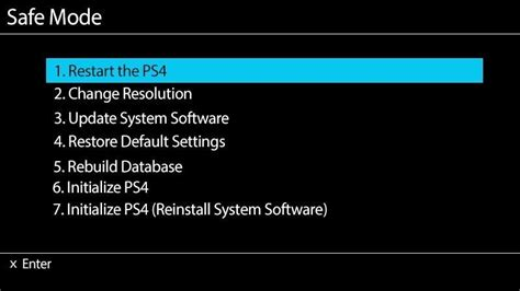 how to reset ps3 video settings from hdmi to av ps4 won t connect to your tv try these quot no signal