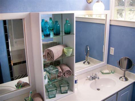 space bathroom storage ideas diy network