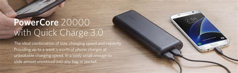 Anker Powercore Speed 20000mah Charge 3 0 Black A1274011 1 anker powercore 20000mah charger 3 0 black price