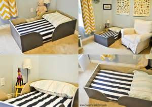 Diy Toddler Bed Chris And Sonja The Sweet Seattle Diy Toddler Bed