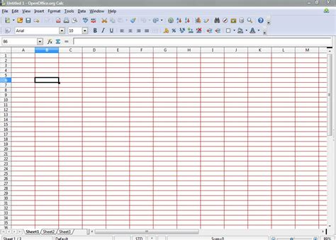 grid color how to add colored grids to openoffice calc spreadsheets