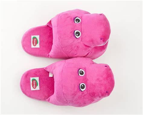 barney slippers barney the dinosaur slippers barney slippers character