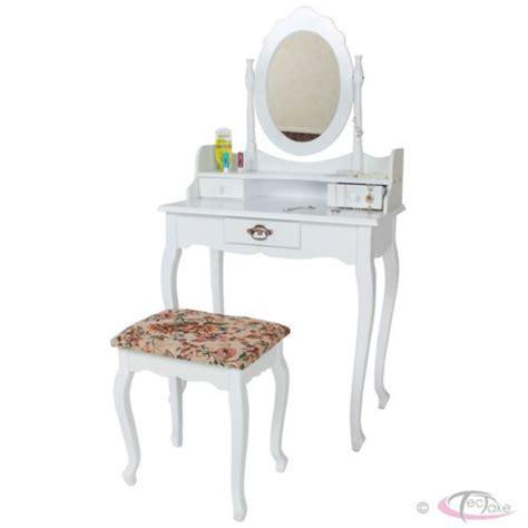 laras para buro vintage tocador con taburete mesa de maquillaje con espejo y