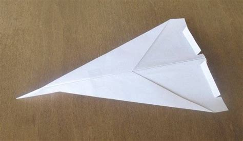 How To Make An Advanced Paper Airplane - obryadii00 how to make paper airplanes