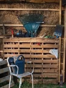 diy pallet garden tools rack 99 pallets
