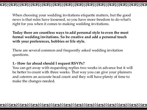 wedding invitation wording in email how to choose your wedding invitations