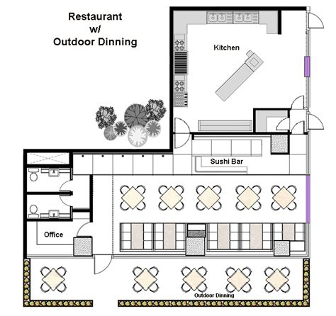 restaurant floor plan layout restaurant floor layout cad pro
