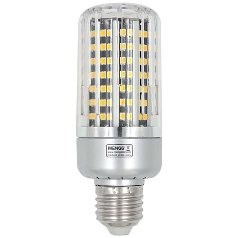 3 level light bulb mengsled mengs 174 e27 3 level brightness 3w 9w 18w led